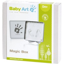Empreinte bébé - Magic box Blanche