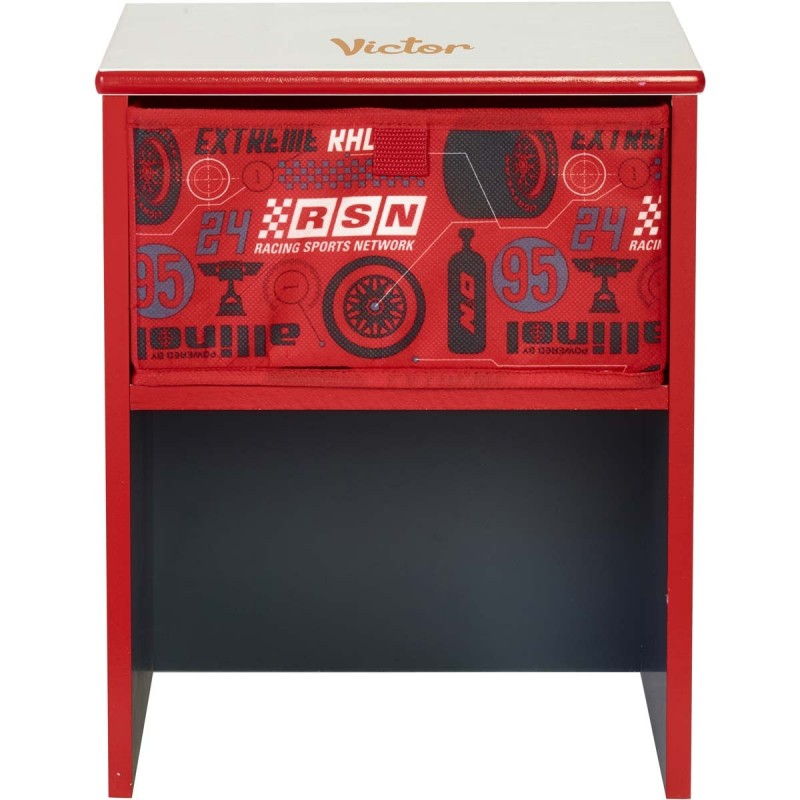 table de chevet enfant personnalis e disney cars. Black Bedroom Furniture Sets. Home Design Ideas