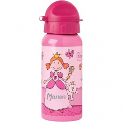 Gourde enfant personnalisée - Pinky Queeny