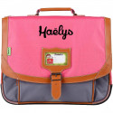 Cartable Tann's 35 cm collector Iconic - Fuchsia / Gris