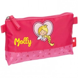 Trousse scolaire simple personnalisée - Pinky Queeny