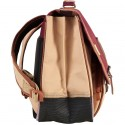 Cartable Tann's Iconic 38 cm - Grenat & Sable